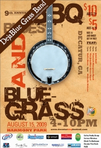Decatur BarbequeBluegrass